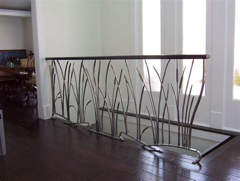 Interior Metal Handrails railings railing design and interior railings on