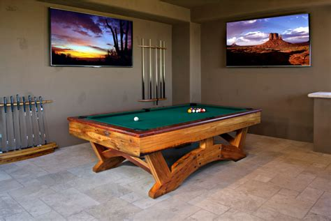 Game Room Hatch Billiards Pool Table Space