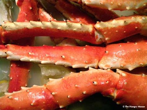 how to cook king crab the hungry mouse