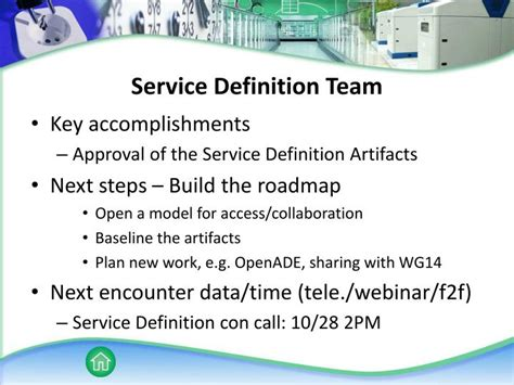 service definition ppt opensg closing plenary powerpoint presentation id 3721249