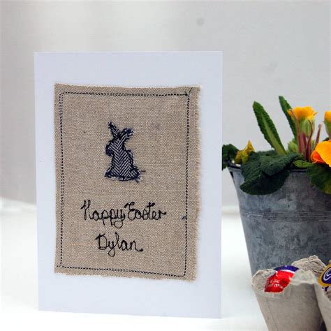Easter Cards Handmade - personalised handmade easter card by handmade at poshyarns