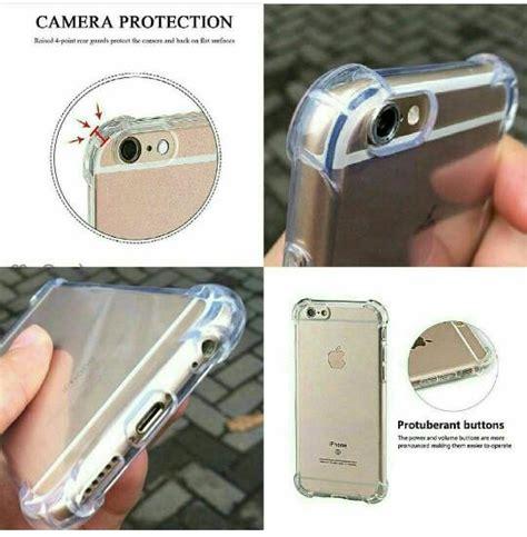 Iphone 6 6s Tpu Lentur Acrylic Hardcase Transparan 04080 anti kuat untuk iphone melindungi dari benturan tokokomputer007