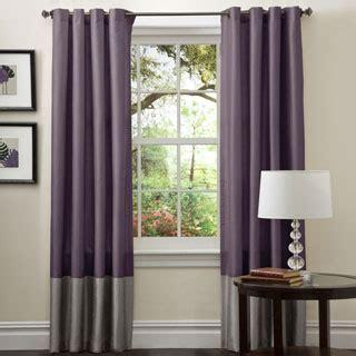 Lush decor prima grey purple 84 inch curtain panel pair