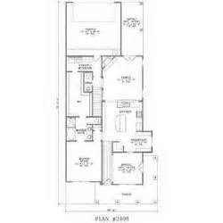 Narrow Lot House Plans With Rear Garage by House Plans For Narrow Lots With Garage Valine