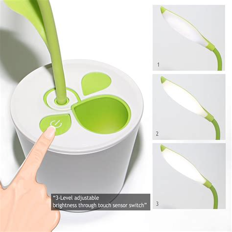 Taplak Meja Kotak Silver lu meja touch sensitive dimmable dengan pen holder light green jakartanotebook