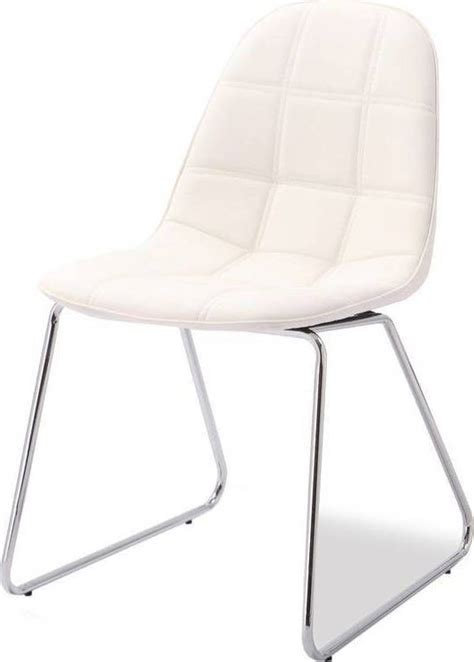 design stoelen van lederlook pu monaica tifo eetkamerstoel lederlook pu nodig