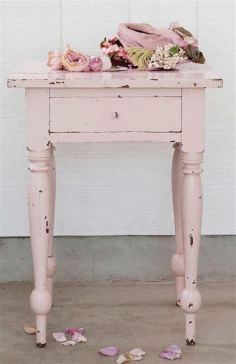 nachttisch rosa 55 shabby chic einrichtungsideen und anleitung wie sie