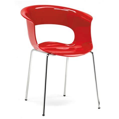 scab sedie policarbonato sedia scab miss antishock policarbonato e acciaio scab