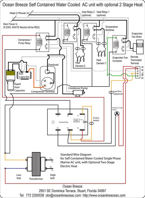 wiring diagram of split type aircon in air conditioning