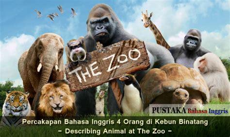 percakapan bahasa inggris    kebun binatang