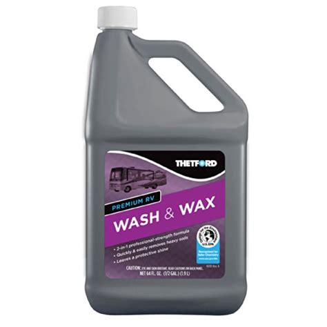 thetford marine boat wash thetford 96014 premium rv wash wax 64 oz autoplicity