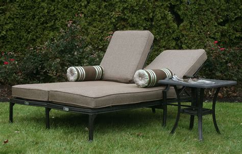 outdoor chaises double chaise lounge outdoor ideas prefab homes
