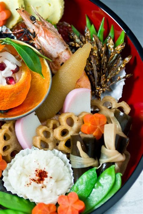new year vegetable dishes osechi ryori japanese new year s food vegetables