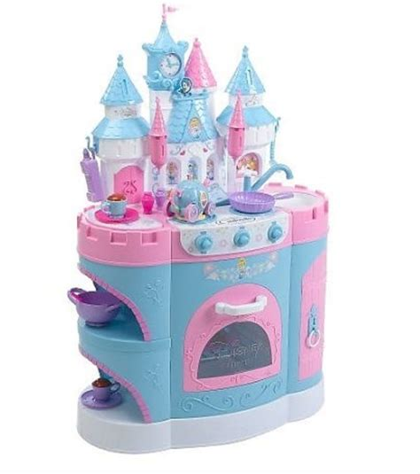 Princess Ariel Kitchen by Disney Princess Cinderella Magical Talking Kitchen Playset