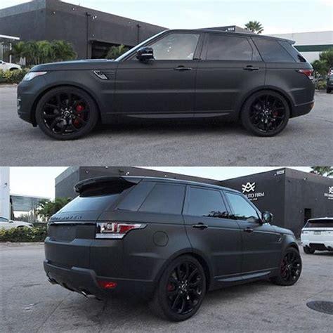 matte range rover 2017 range rover sport 2016 matt black cars