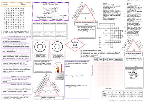 aqa trilogy physics revision a3 worksheets physics