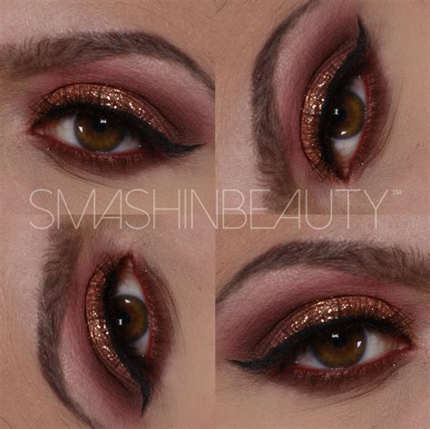 Tutorial Eyeshadow Sariayu Papua glitter eye makeup tutorial mugeek vidalondon