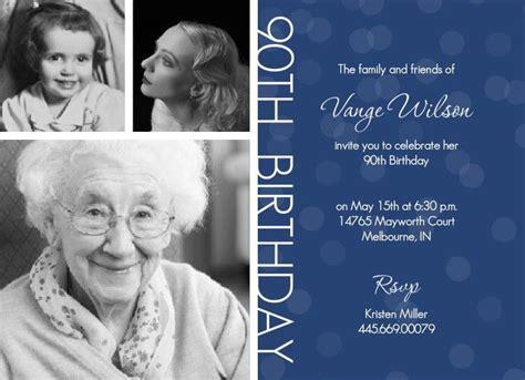 90th birthday invites templates free printable 90th birthday invitations free printable