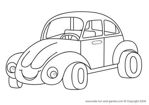 Coloring Pictures Of Cars For Toddlers | coloring pages for kids car coloring pages for kids