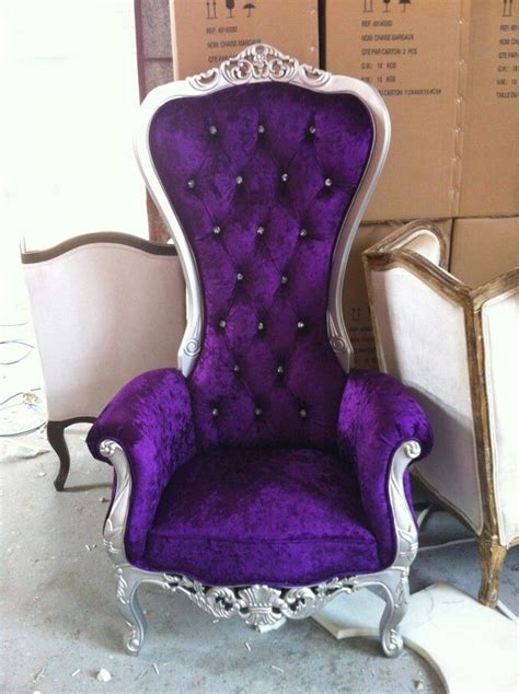 Purple Chairs For Sale Design Ideas Purple Princess Chair Decor Inspiration Office Throughout Purple Armchair Purple