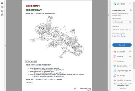 rx 8 wiring diagram workshop manual k