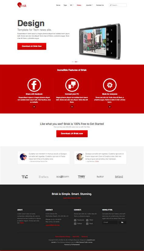 convert joomla 2 5 template to 3 ja brisk responsive joomla 2 5 3 0 template on t3v3
