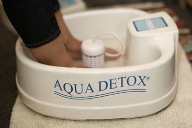 What Is Aqua Foot Detox by Detox Aqua Acqua Disintossicazione Con Acqua