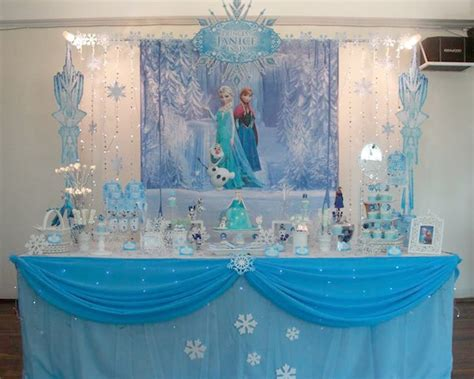frozen theme decorations kara s ideas disney s frozen themed birthday