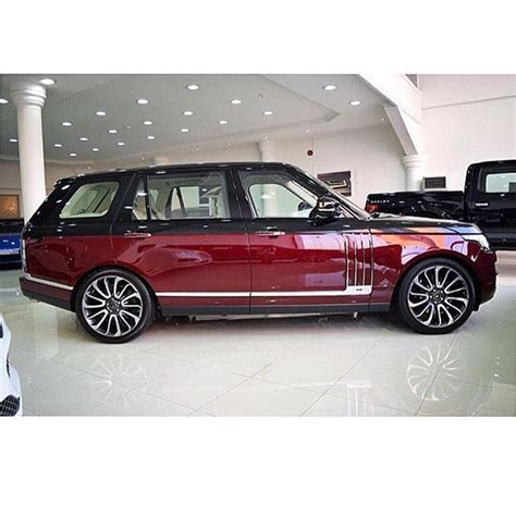 burgundy range rover 2016 range rover svautobiography good heavens i love this car
