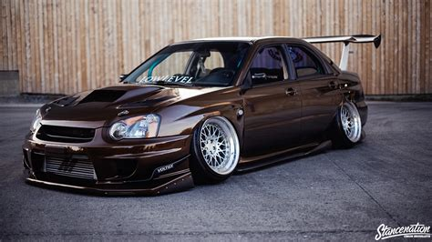 stanced subaru wallpaper first time s the charm louis phillipe s sti