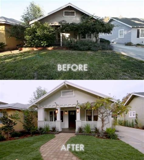 curb appeal before and after before and after curb appeal exterior colours
