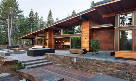 mountain home plans unique modern mountain home designs