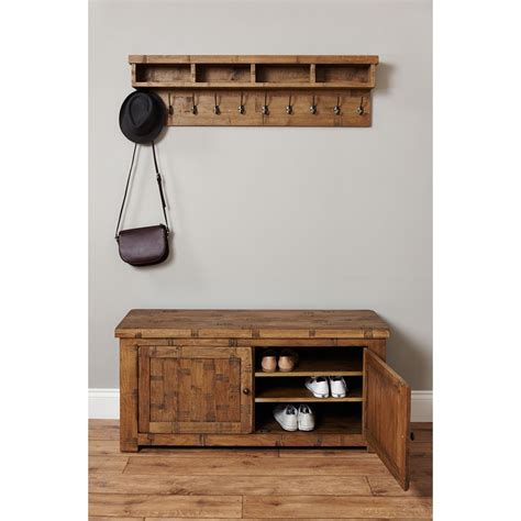 oak shoe storage bench heyford rough sawn oak shoe storage bench buy online at