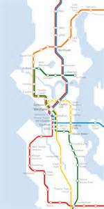 Seattle Light Rail Map by Ed Murray On Light Rail Expansion