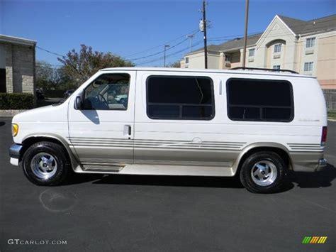 white conversion white 1995 ford e series e150 passenger conversion