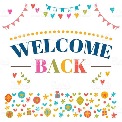 welcome back card template portena welcome back