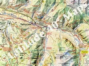telluride silverton ouray trails latitude 40 maps