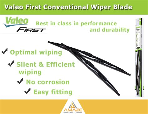 Toyota Yaris Wiper Valeo Flat Blade Quality 14 24 valeo wiper blade for toyota vios 2nd 3rd 07