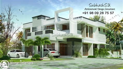 contemporary style house in 2300 square feet kerala home 2300 sq ft contemporary double floor home design