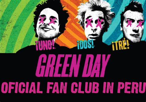 green day fan club quot the class of 13 quot oficial fan club of green day