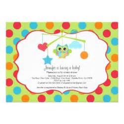 owl baby shower invitations 5 quot x 7 quot invitation card zazzle