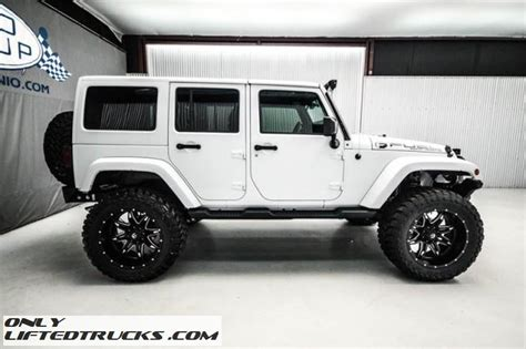 white jeep unlimited lifted used 2015 jeep wrangler unlimited lifted