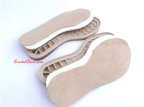 how to shoes masa rubber sole for crocheted shoes crochet decor