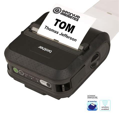 Printer Name Tag wireless name tag printer kit