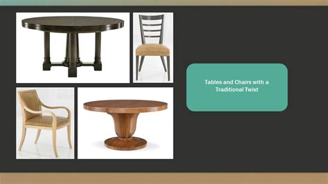 unique dining table and chair combinations for fridays