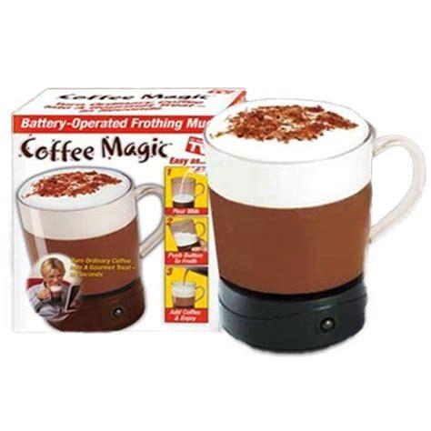 Coffee Magic coffee magic frothing mug cooking gizmos tools