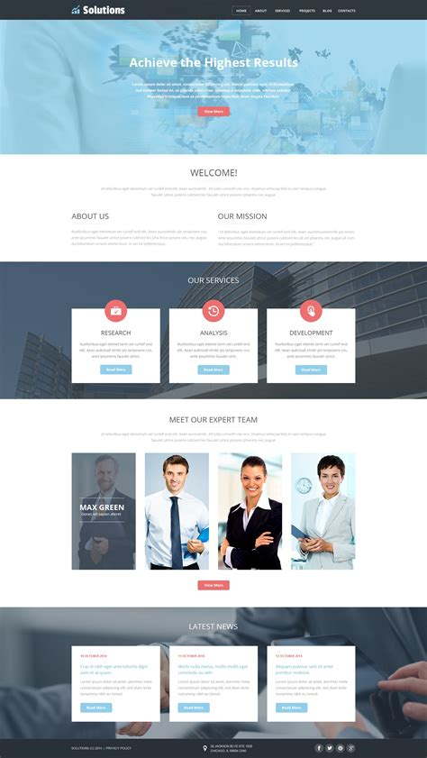 business template joomla business web joomla template 49216