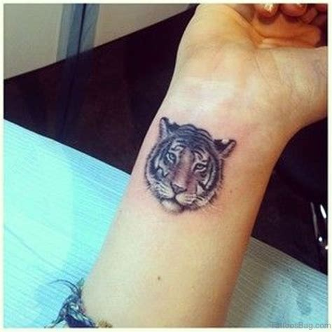 16 Fine Tiger Tattoos On Wrist Small Tiger Tattoos For