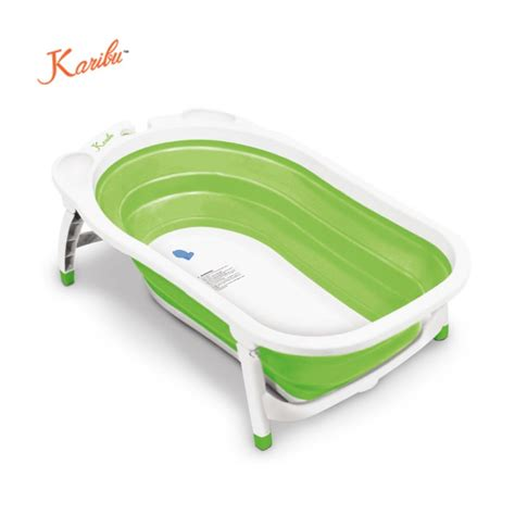Karibu Folding Bath Blue karibu folding bath tub green bathing