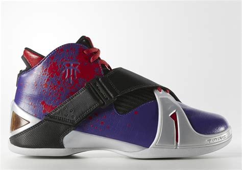 toronto basketball shoes tracy mcgrady wore a quot toronto quot pe of the adidas t mac 4